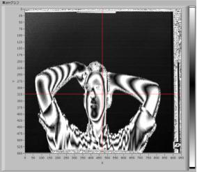 10 モアレを活用しモノの変形を2μmの精度で検出